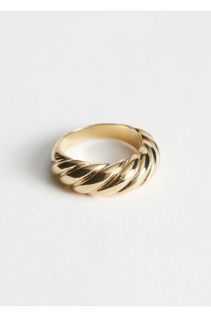 & OTHER STORIES Women Rings - Twisted Sphere Ring