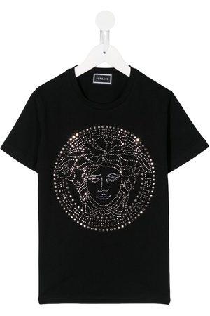 VERSACE Medusa logo short-sleeve T-shirt