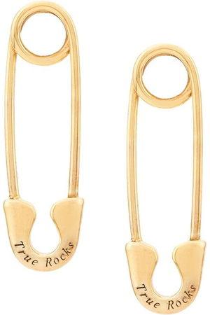 TRUE ROCKS Women Studs - Safety pin stud earring