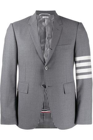 Thom Browne Men Blazers - 4-Bar wool sport coat - Grey