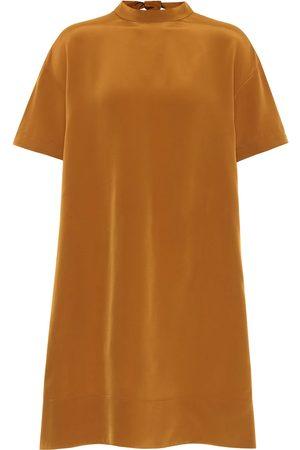 Chloé Satin-crêpe minidress