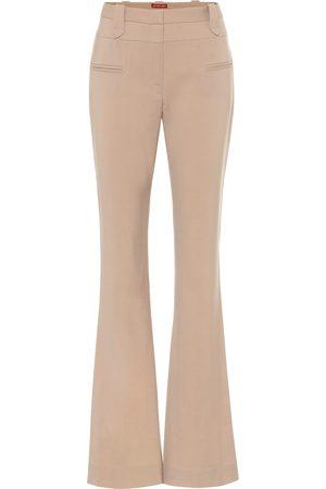 Altuzarra Serge stretch-wool flared pants