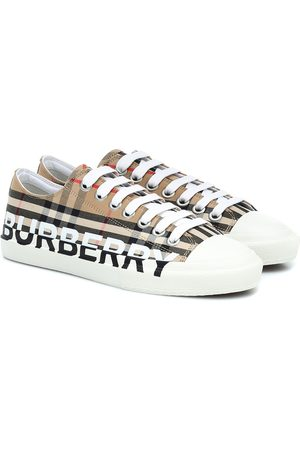 Burberry Vintage Check logo sneakers