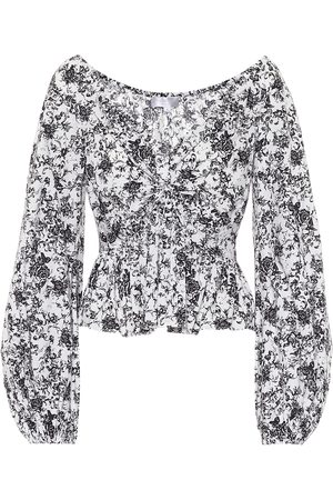 Caroline Constas Onira stretch-cotton top