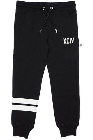 GCDS Logo Print Cotton Sweatpants
