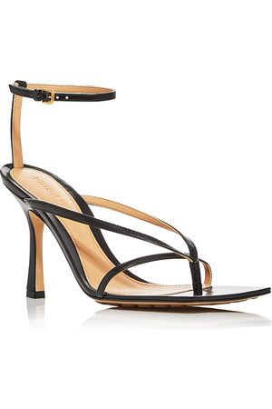 Bottega Veneta Bottega Venetta Women's Square-Toe High-Heel Sandals