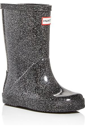 Hunter Unisex First Classic Starcloud Glitter Rain Boots - Walker, Toddler