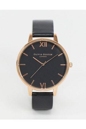 Olivia Burton Shoreditch OB16SH08 and rose gold watch
