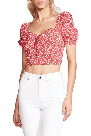 Bardot Women's Ditsy Floral Crop Top