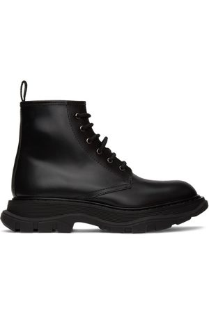 Alexander McQueen Beauty Lace-Up Boots