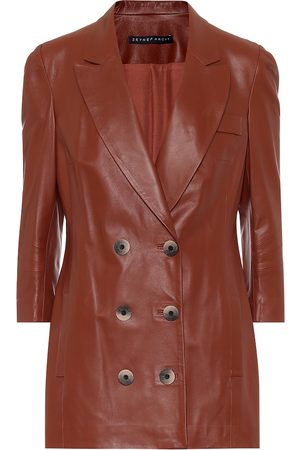 Zeynep Arcay Women Leather Jackets - Leather blazer