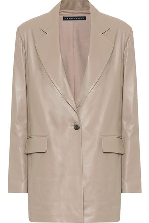 Zeynep Arcay Leather blazer