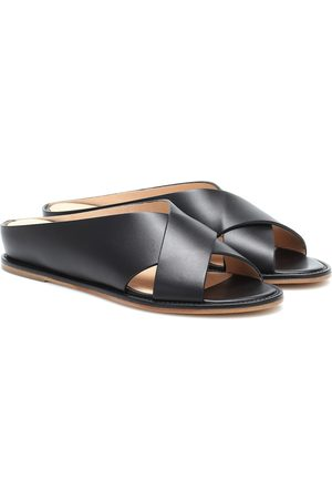 GABRIELA HEARST Ellington leather slides