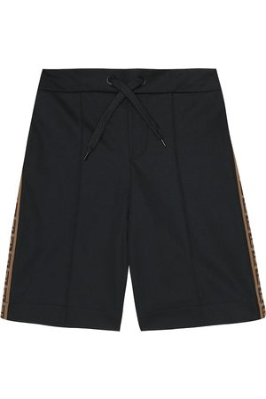 Fendi Logo shorts