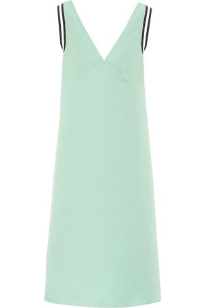 Plan C Sleeveless cady midi dress