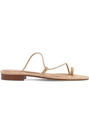 EMME PARSONS 10mm Susan Leather Thong Slides