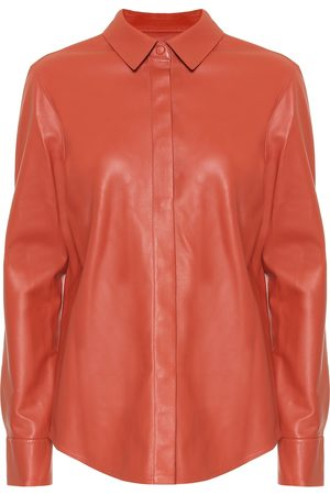 Zeynep Arcay Leather shirt