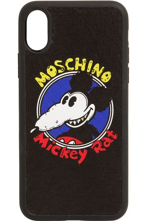 Moschino Mickey Printed Iphone Xs Max Cover