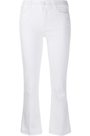7 For All Mankind Women Bootcut - Cropped Bootcut Illusion jeans