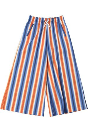 Marni Striped Cotton Culottes