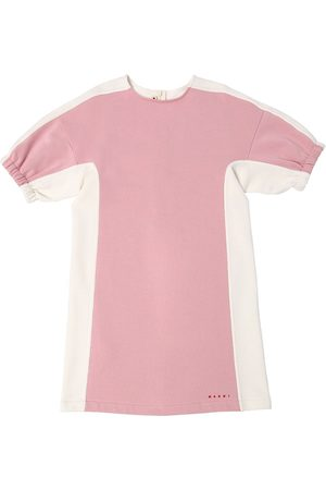 Marni Cotton Sweatshirt Dress