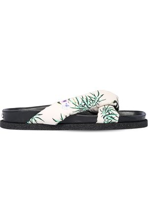 Kenzo 10mm Printed Nylon Slide Sandals