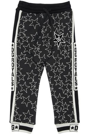 Dolce & Gabbana Stars Print Cotton Sweatpants