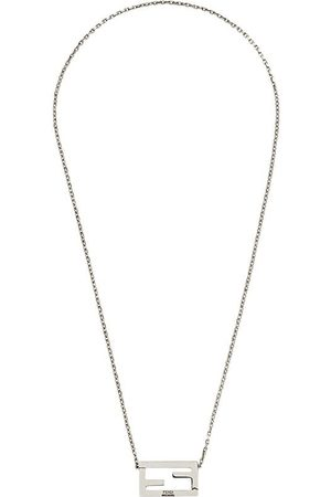Fendi FF motif chain necklace