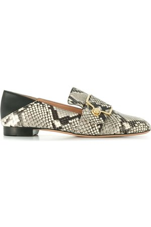 Bally Snake-effect loafers - Grey
