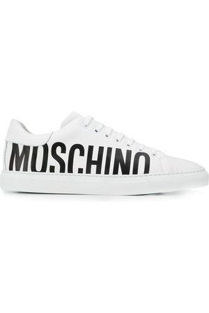 Moschino Men Sneakers - Printed logo sneakers