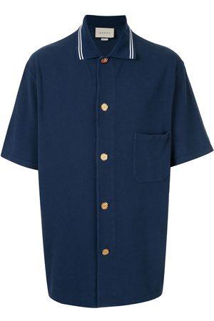 Gucci Men Polo Shirts - Cotton piquet polo shirt