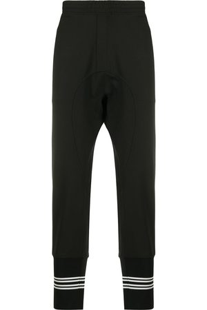 Neil Barrett Men Sweatpants - Drop-crotch track pants