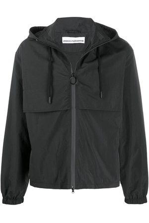 Paco rabanne Drawstring hooded jacket