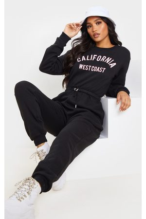 PRETTYLITTLETHING California Long Sleeve Jumpsuit