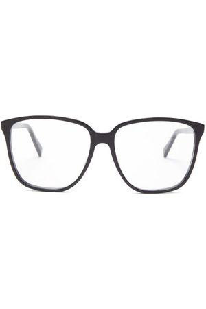 Celine Eyewear Oversized Square Acetate Glasses - Womens