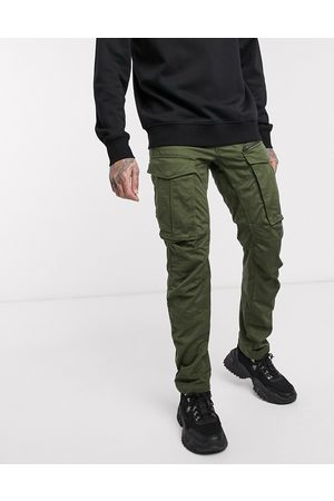 G-Star Rovic Zip 3D straight tapered fit pants in khaki