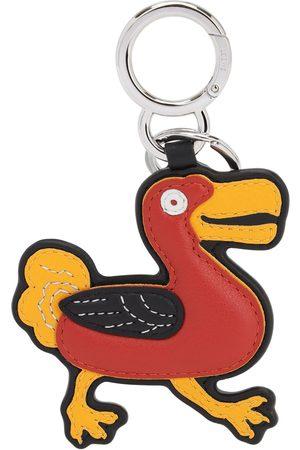 LOEWE Bird Chain Leather Key Chain