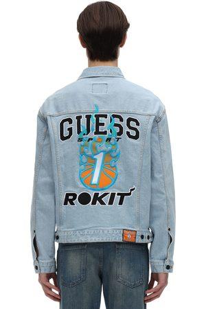 GUESS SPORT Rokit Basketball Denim Jacket