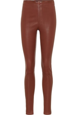 Zeynep Arcay High-rise skinny leather pants