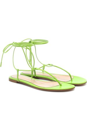 Gianvito Rossi Gwyneth leather sandals