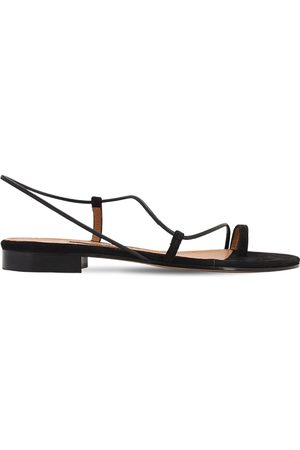 EMME PARSONS 10mm Susan Leather Thong Slides