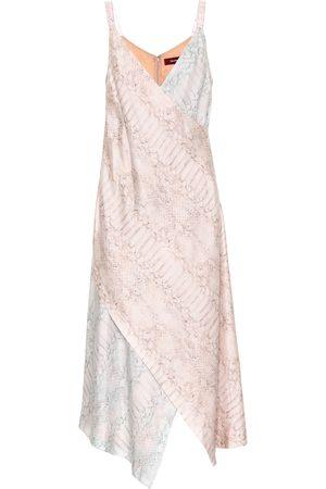 Sies marjan Women Printed Dresses - Printed silk midi dress