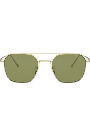 Armani Aviator shaped sunglasses
