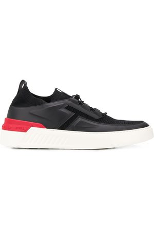 Tod's Knit-panel low-top trainers
