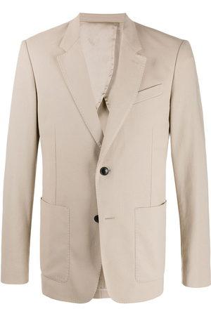 Ami Button-front blazer - Neutrals