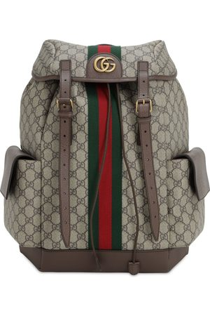 Gucci Coated Gg Supreme Ophidia Backpack