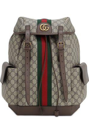 Gucci Men Wallets - Coated Gg Supreme Ophidia Backpack