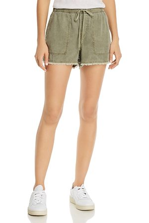 Bella Dahl Frayed Drawstring Shorts