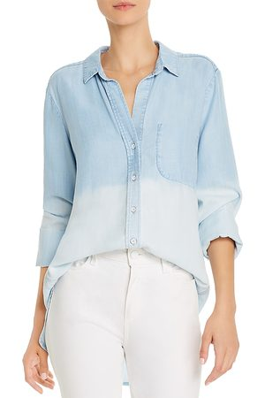 Bella Dahl Dip-Dye Chambray Shirt
