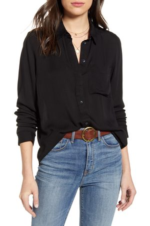 Treasure & Bond Women's Dobby Classic Shirt
